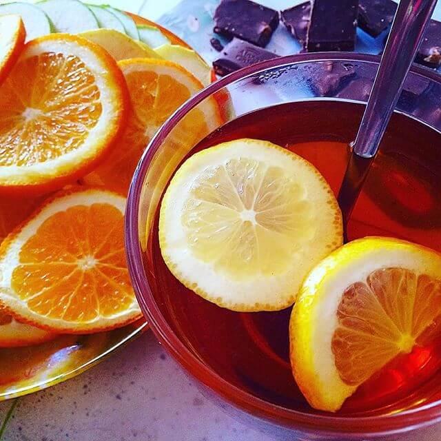 Чай с лимоном от головной боли у ребенка