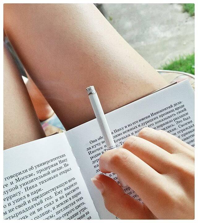Курение провоцирует головную боль