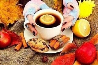 Чай с лимоном во время простуды