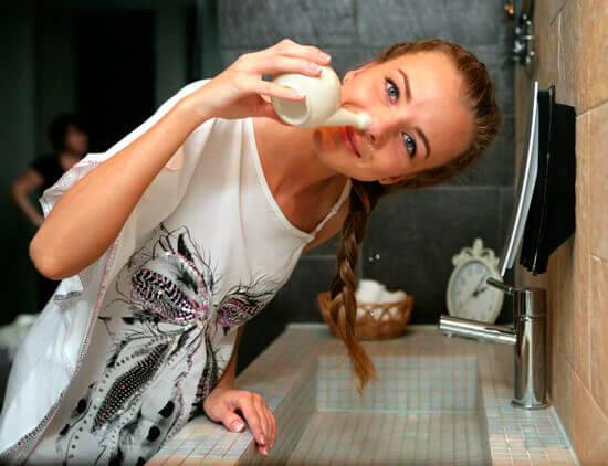 Промывание носа облегчает дыхание