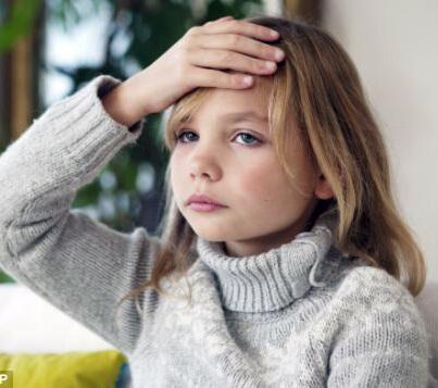 Болит лоб у ребенка