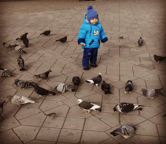 Ежедневные прогулки на свежем воздухе способствуют хорошему самочувствию ребенка