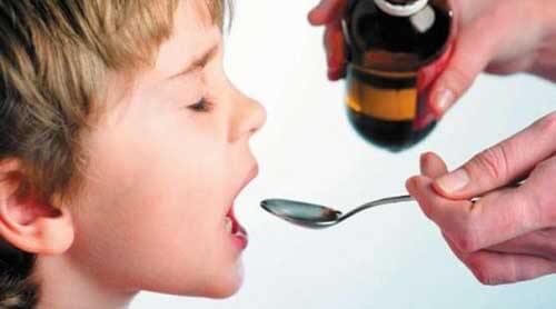 Детский сироп от головной боли