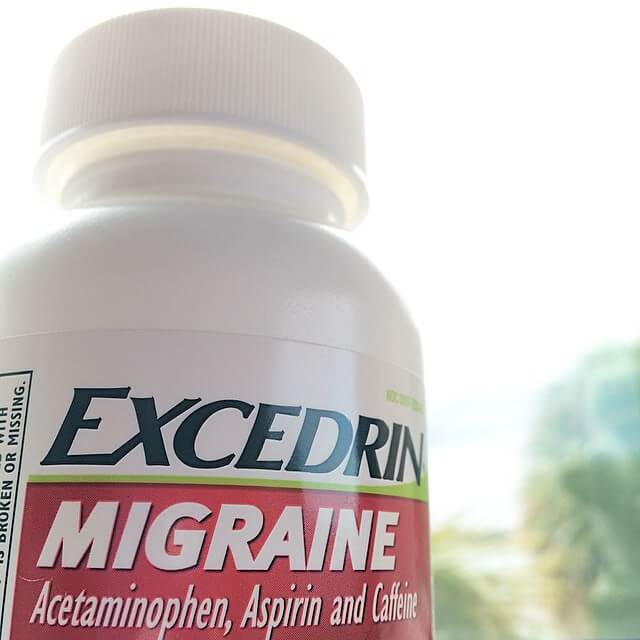 Эффективное средство от мигрени и головной боли — Экседрин