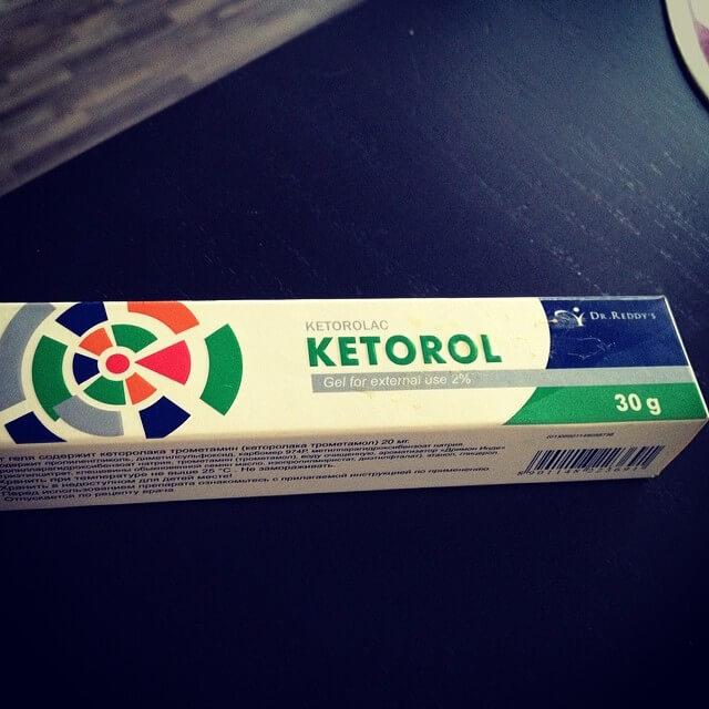 Кеторол от боли в голове