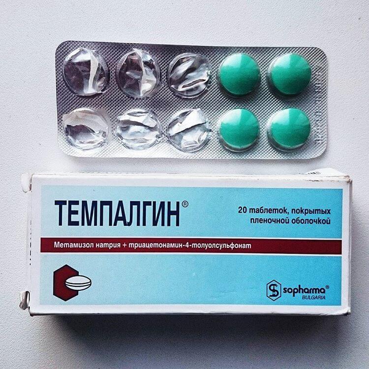 Таблетки от головной боли «Темпалгин»: схема приема, дозировка