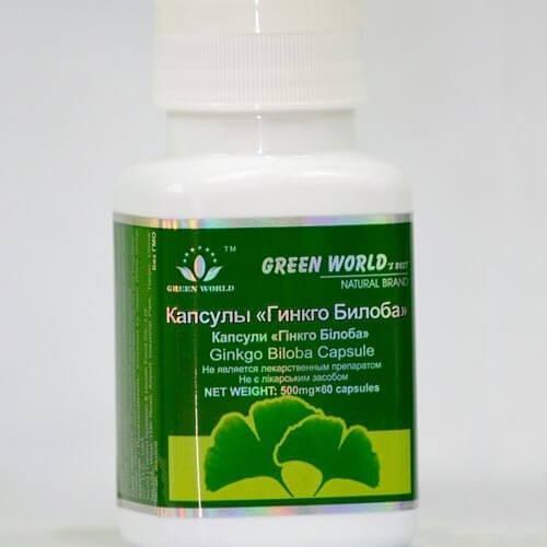 Препараты для сосудов на растительной основе