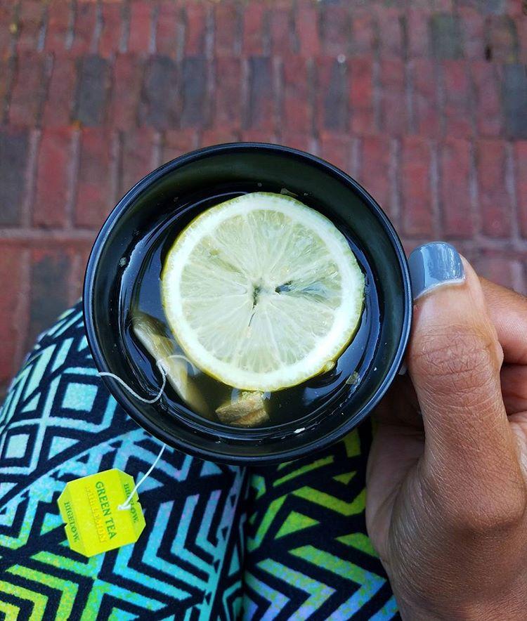Чай с лимоном понижает давление