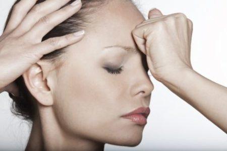 Болит лоб и затылок