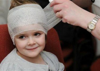 Ушиб головного мозга у детей