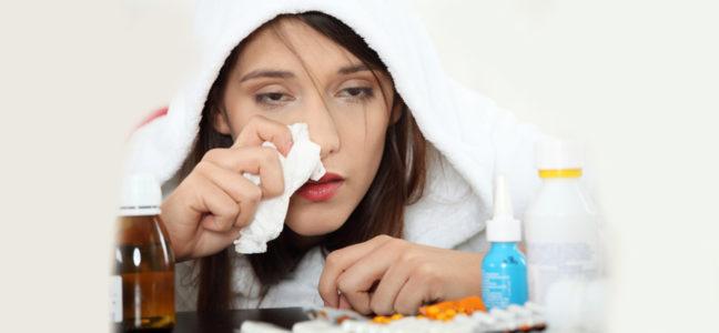 Причины головной боли во лбу и в висках