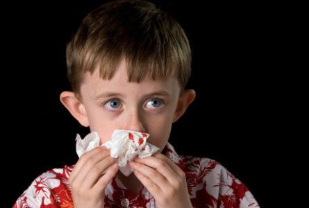 Болит голова и кровь из носа у детей