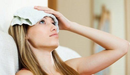 Первая помощь при головной боли в области лба и глаз