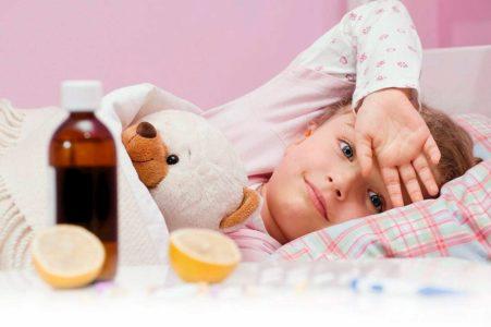 Головные боли у детей, вызванные инфекциями