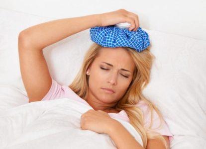 Симптомы, когда продуло голову