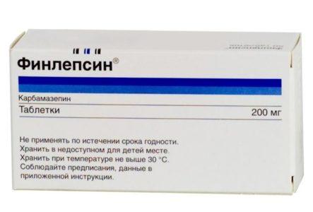 Медикаментозное лечение невралгии тройничного нерва